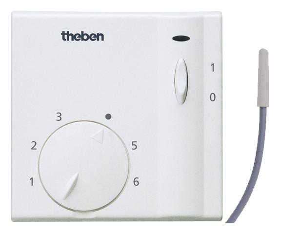 Термостат Theben RAM 714 А комнатный, цифровой, th 7140016