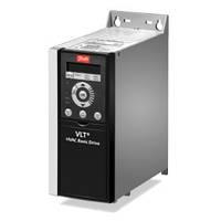 Преобразователь частоты VLT HVAC Basic Drive FC 101 75 кВт/3ф, панель управления встроена