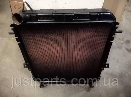 """Радиатор охлаждения двигателя КрАЗ-6437 (4-х рядный)(производство """"Авторадиатор"""") 6437-1301010"""
