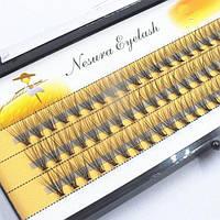 Ресницы безузелковые Nesura 20d - 8мм