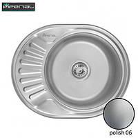 Кухонная мойка Imperial из нержавеющей стали 6044 polish 06mm