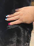 Женская норковая шуба с воротником стойка размеры норма, фото 5