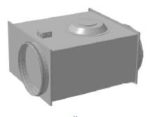 Вентилятор канальный для круглых каналов ССК ТМ C-VENT-PF-EX-150-4-380