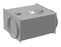 Вентилятор канальный для круглых каналов ССК ТМ C-VENT-PF-EX-250-4-380
