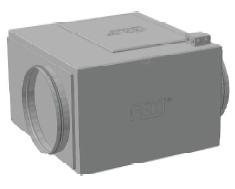 Вентилятор канальный для круглых каналов ССК ТМ C-VENT-PF-S-200-4-380
