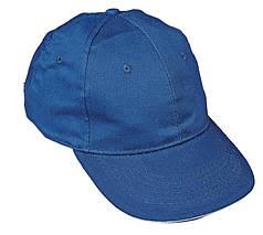 Кепка (бейсболка) хлопок Tulle 100% Сotton голубая, фото 3