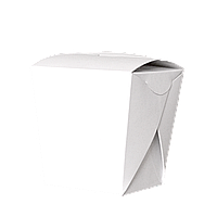 Упаковка для Лапши Белая 500мл  25шт