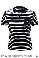 Футболка-поло мужская PAUL & SHARK 86206 тёмно-синяя