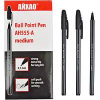 Ручка шариковая AH-555 AIHAO original черная