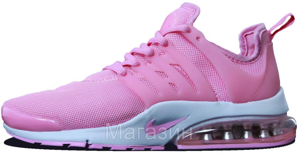 Женские кроссовки Nike Air Presto Pink/White Найк Аир Престо розовые