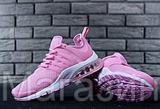 Женские кроссовки Nike Air Presto Pink/White Найк Аир Престо розовые, фото 3