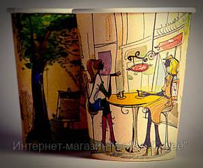Стакан бумажный с типовым рисунком, 250 мл, фото 2