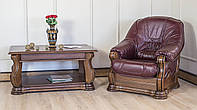 Кресло Гетьман (в коже) Мебус