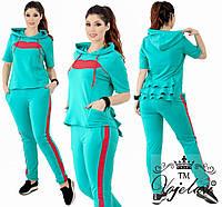 Спортивный костюм для женщин двухнитка  , фото 1