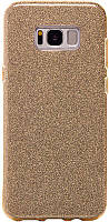 Чехол-накладка Remax Glitter Series Case Samsung G955 S8 Plus G955F Gold, фото 1