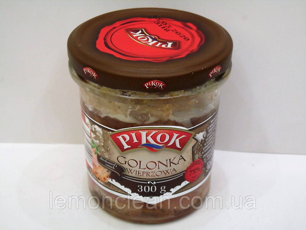 Консервированная тушенка Pikok golonka wieprowa 300г