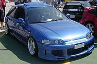 Реснички (накладки фар) для Honda Civic 92-95