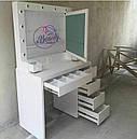Туалетный столик с открывающимся зеркалом и шкатулками., фото 2