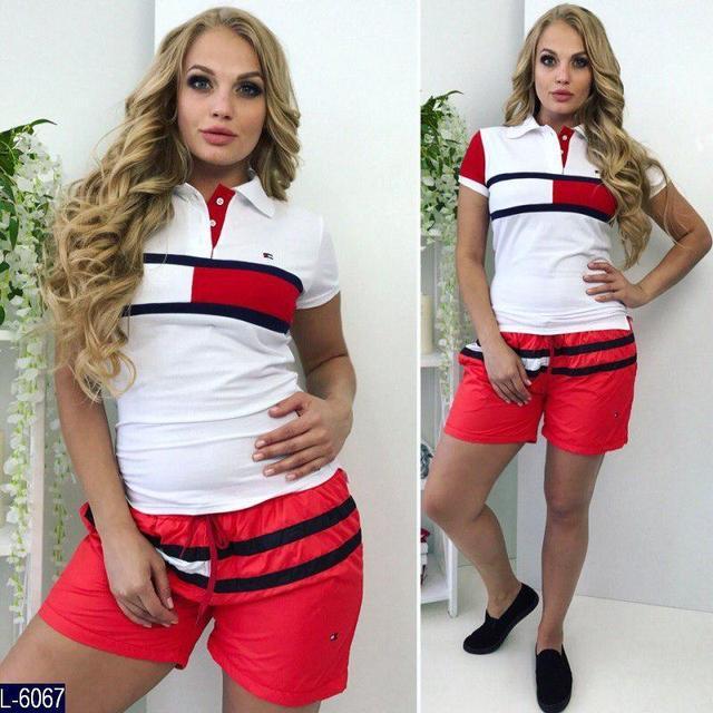Женские шорты больших размеров