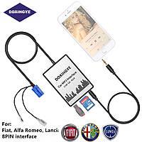 USB AUX MP3 адаптер для штатной магнитолы Fiat Alfa Romeo Lancia Chevrolet Maserati 8pin эмулятор CD чейнджера