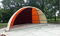 Тент ПВХ на готовый каркас для веранд и летних площадок