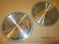 Нож (диск) для мотокосы, бензокосы, триммера (255х25,4мм) победит т-40, фото 1