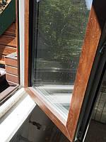 Окна ламинированные Rehau Euro 70, Киев Русановские Сады 8 линия