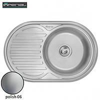 Кухонная мойка Imperial из нержавеющей стали 7750 polish 06mm