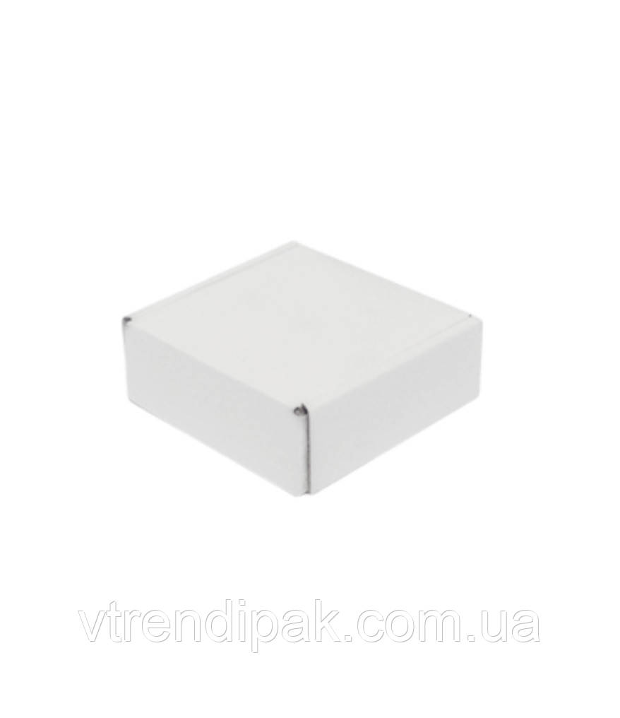 Самозбірна коробка 102*102*37 біла