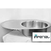 Кухонная мойка Imperial из нержавеющей стали 7750 polish 08mm , фото 2