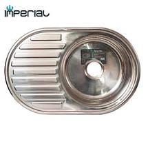 Кухонная мойка Imperial из нержавеющей стали 7750 polish 08mm , фото 3