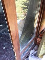 Ламинированные двери Rehau Euro 70 (выход на балкон)