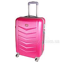 Прекрасный чемодан на колесах пластиковый. Имеются косметические микродефекты. SS51040513, фото 1