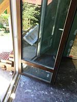 Балконные ламинированные двери Рехау (Киев, Русановские Сады)