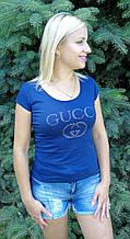 Футболка женская копия  gucci