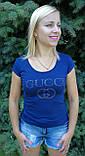 Футболка женская копия  gucci , фото 3