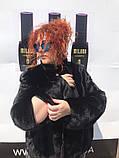 Женская норковая шуба  большие размеры, фото 3