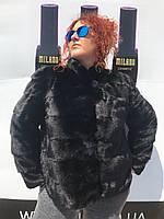 Женская норковая шуба  большие размеры, фото 1