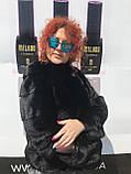 Женская норковая шуба  большие размеры, фото 5