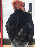 Женская норковая шуба  большие размеры, фото 6
