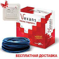 Тонкий нагревательный кабель, теплый пол под плитку, без муфтовое соединение 15 1500 Вт (8,1-10 м2)