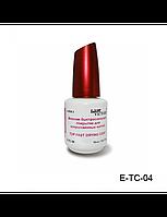 Верхнее быстросохнущее покрытие для искусственных ногтей Top Fast Drying Coat № E-TC-04 Lady Victory (18 мл)