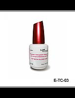 Верхнее глянцевое покрытие для искусственных ногтей Top Mega Gloss Coat № E-TC-03 Lady Victory (18 мл)