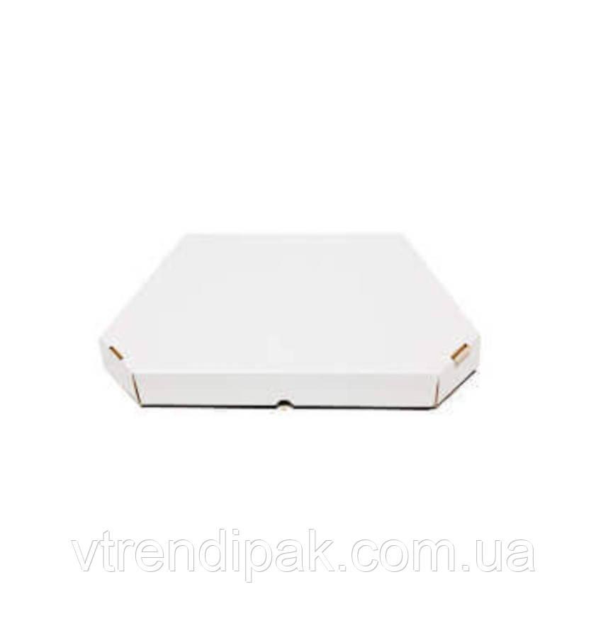 Коробка для піци, хачапурі 400*400*40 біла