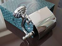 Тримач для туалетного паперу KUGU Versace 211C Хром