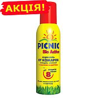 Аэрозоль от комаров и клещей Picnic BIO Active 125мл (26% Дета)