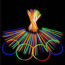 Світлові неонові браслети 1 лот = 100 штук, фото 2