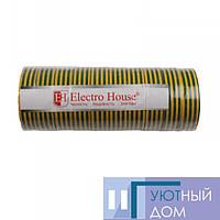Ізоляційна стрічка жовто-зелена 0,15 мм х 18мм х 25м