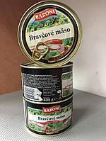 "Мясная консерва ""Baroni"" Bravčové Mäso 400г"