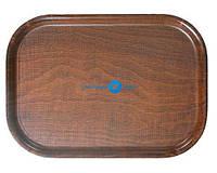 Піднос дерев'яний овальний з шорсткою поверхнею РН557036